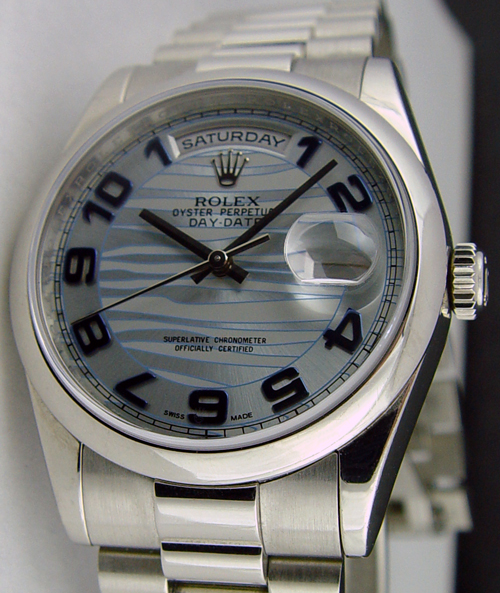 Swiss Watches ROLEX - Mens DayDate PLATINUM President